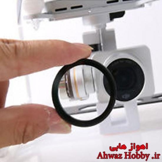 فیلتر ضد خش وUV محافظ لنز شفاف برای پرنده فانتوم 3
