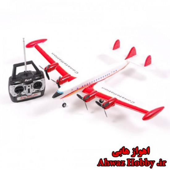 هواپیمای مسافربری 4 موتوره کوچک کنترل از راه دور Super Constellation