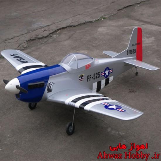 هواپیمای جنگنده موستانگ P51 ساخت Lanyu کنترل از راه دور