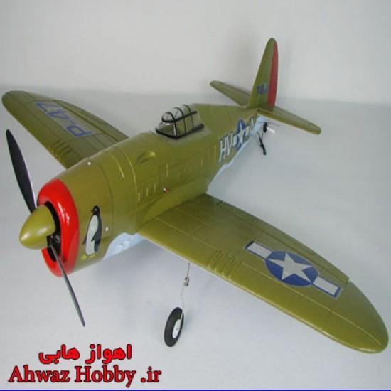 هواپیمای جنگنده P-47 ارتشی ساخت Lanyu کنترل از راه دور