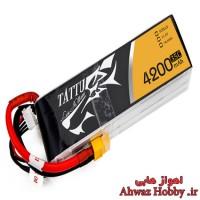 باتری 3 سل 11.1 ولت 4200 ميلي آمپر 35C ساخت Tattu