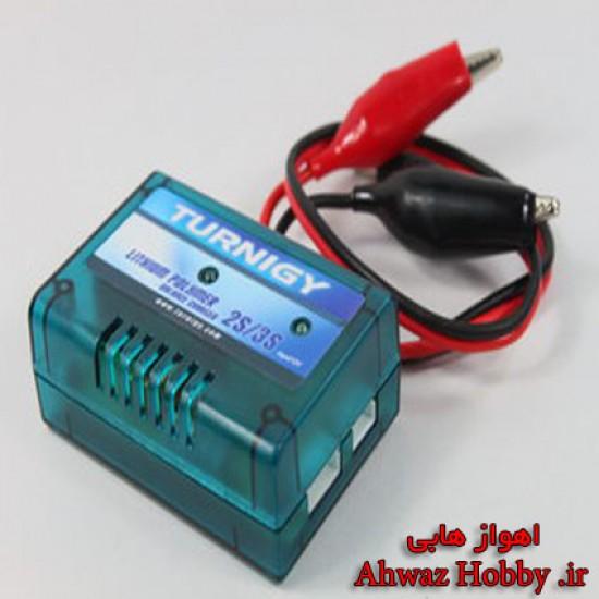 بالانسر شارژر Turnigy مدل DC قدرت 5 وات مخصوص باطری های 2 و 3 سل آمپر پایین
