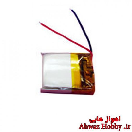 باتری لیتیوم پلیمر 1سل 3.7 ولت 80mah مخصوص کوادهای میکرو و مینی CX star و CX10