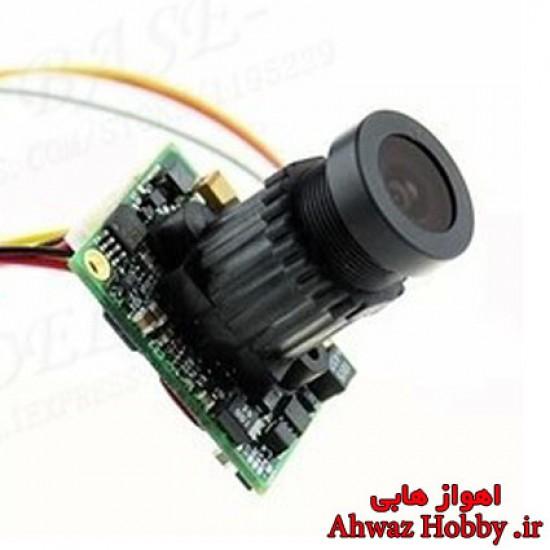 دوربین FPV با کیفیت HD و سنسور تصویر CCTV-Sony با زاویه دید 105 درجه و لنز واید 2.8mm و وضوح 700TVL