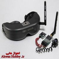 عینک FPV تصویری FatShark Predator V2 با ست اختصاصی دوربین و ارسال تصویر