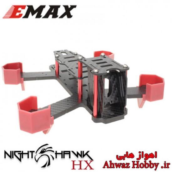 فریم EMAX Nighthawk-HX200 فول کربن مخصوص FPV Racing مسابقه ای دارای محافظ موتور