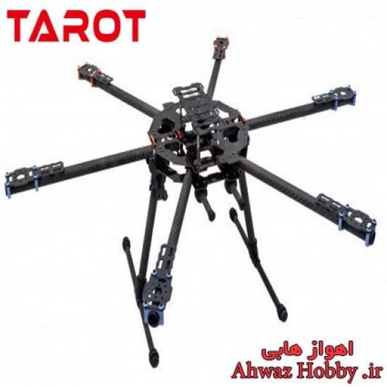 فریم بدنه هگزا کوپتر فول کربن 680 تاروت TL68B01 آیرون من با بازو و پایه جمع شونده ساخت شرکت Tarot