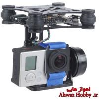 گیمبال دومحوره GLB 2D اپن سورس به همراه بست نگه دارنده دوربین ویژه گوپرو و شیائومی ساخت OCDAY