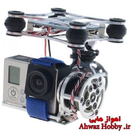 گیمبال دومحوره BGC 2D اپن سورس به همراه بست نگه دارنده دوربین ویژه گوپرو و شیائومی و اسپرت کمرا ساخت Banggood