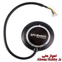 ماژول GPS/GLONASS سرعت بالا قابدار GPS Ublox NEO M8N ورژن 2 همراه با قطبنما (کامپس) مخصوص APM و PIXHAWK