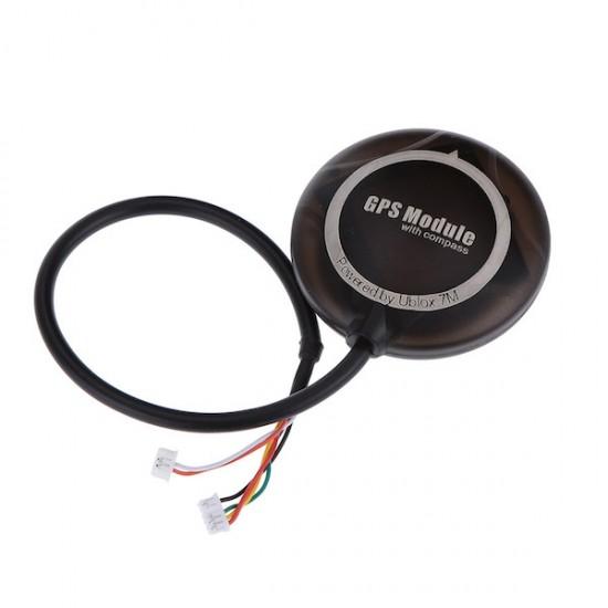 ماژول قابدار GPS Ublox NEO 7M همراه با قطبنما (کامپس) ویژه بردهای آردوپایلوت APM و پیکسهاوک