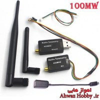 ماژول رادیویی بیسیم رادیو تلمتری دیتا لینک 3DR Radio Telemetry فرکانس 433MHZ با قدرت 100MW ساخت HobbyKing مخصوص APM و Pixhawk