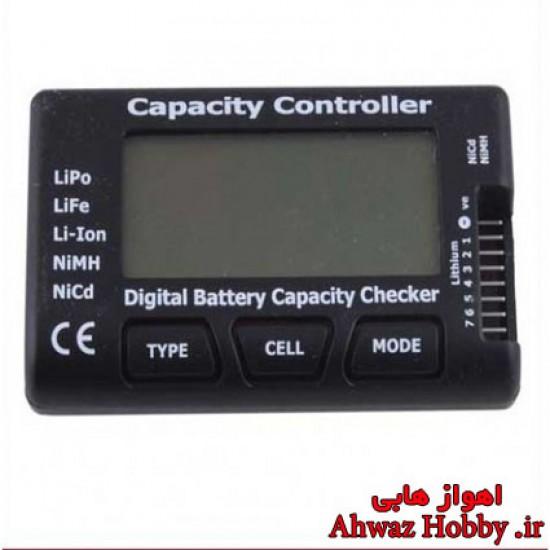 مانیتورینگ دیجیتال همه کاره چک توان و ظرفیت و تست سل های باطری Cell Meter-7