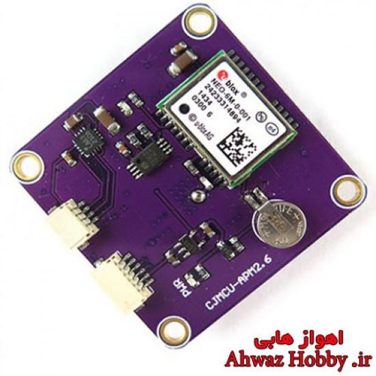 ماژول GPS Ublox NEO 6M همراه با قطبنما (کامپس) ویژه بردهای آردوپایلوت APM و پیکسهاوک