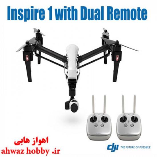پرنده اینسپایر 1 - دو رادیو -  Inspire 1 با گیمبال و دوربین 4K