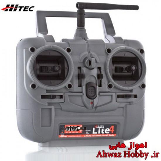 رادیو کنترل 4 کانال هایتک Lite4 همراه رسیور 6 کانال ساخت Hitec
