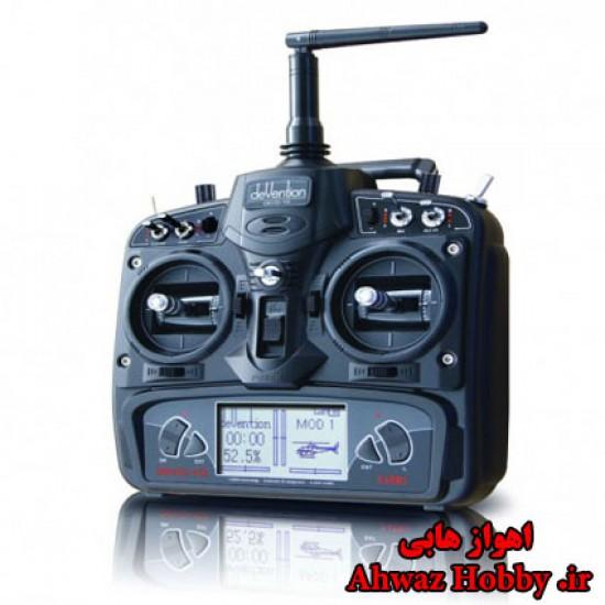 رادیو کنترل 10 کانال والکرا Devo 10 - همراه رسیور - ساخت والکرا