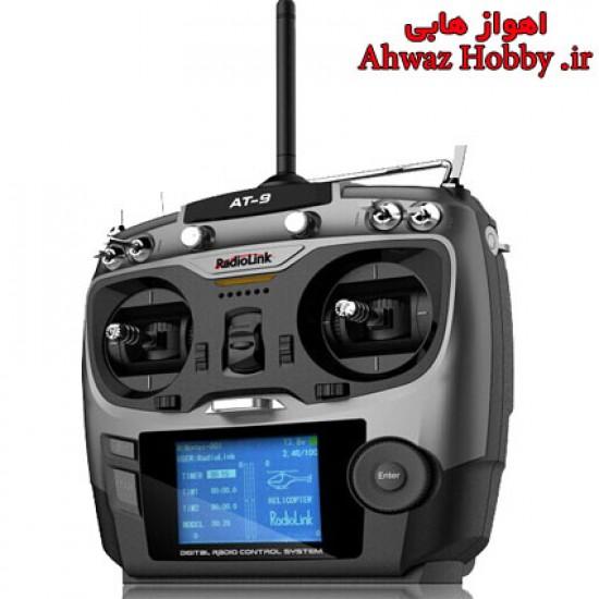 رادیو کنترل 9 کانال - AT9 - همراه رسیور S.BUS- شرکت RadioLink