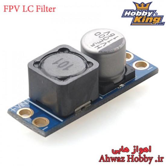 ماژول FPV LC Power Filter مدل 3A فیلتر LC نویزگیر تصویر مخصوص FPV ساخت HobbyKing