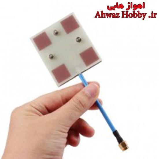 آنتن فلت گین بالا فرکانس 5.8G مخصوص گیرنده تصویر ساخت Facal Hobby با قدرت 14dBi